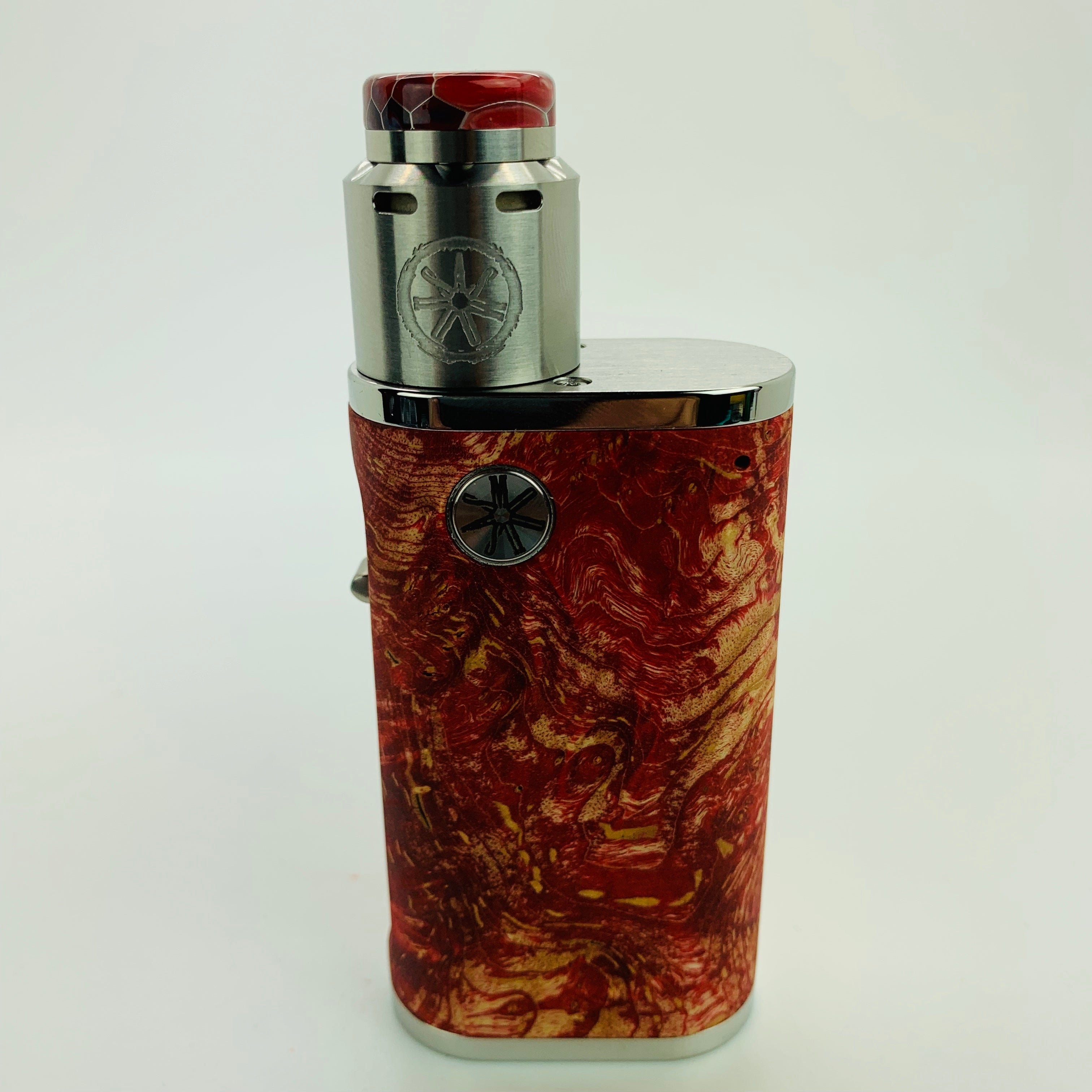 1 of 1 Pumper 18 Squonk Kit with .Blank RDA and Honeycomb Drip Tip #K44