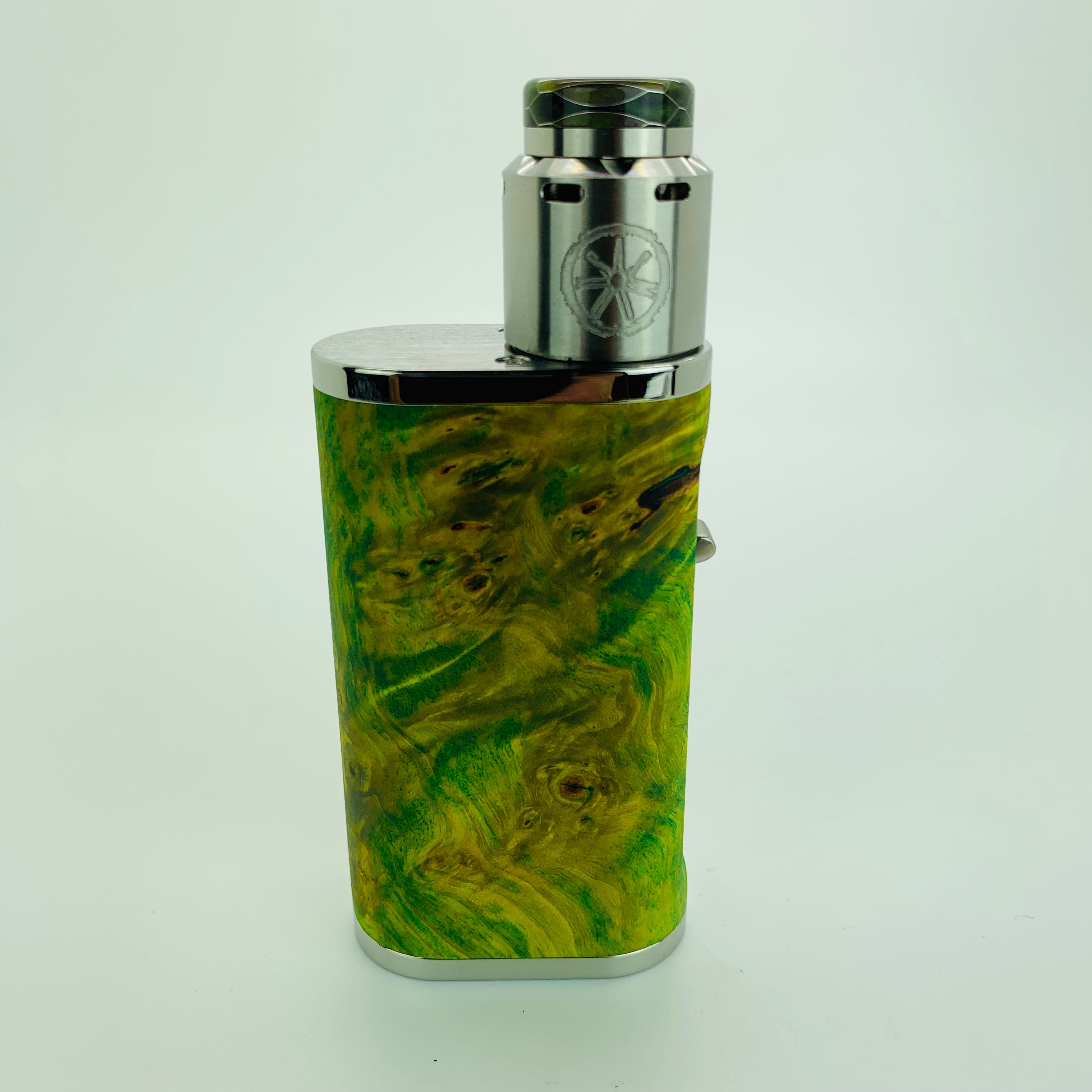 1 of 1 Pumper 18 Squonk Kit with .Black RDA and Honeycomb Drip Tip #S60