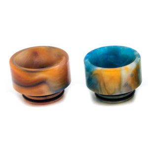 ASMODUS CUSTOM RESIN STUMPY WIDE BORE DRIP TIP (FOR TFV8, BIG BABY, GOON, KENNEDY)