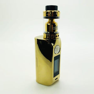 Asmodus Minikin 2 Gold Chrome 180W Mod and Dawg RTA Combo