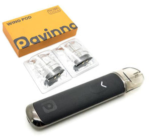 Pavinno Wing 720mAh 20W Pod System Kit w/ 1-Pack of Replacement Pods