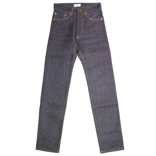 015 Selvedge Rigid Denim Tight Straight Pants-WEAR-kiwandakiwanda-kiwandakiwanda