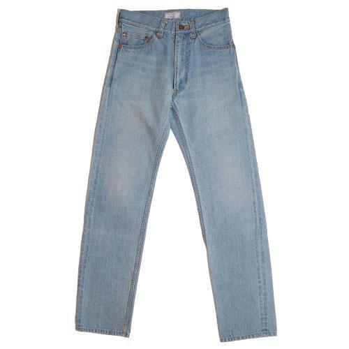 015 Selvedge Washed Denim Tight Straight Pants-WEAR-kiwandakiwanda-kiwandakiwanda