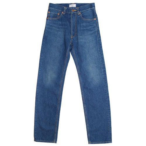 015 Used Washed Denim Tight Straight Pants-WEAR-kiwandakiwanda-kiwandakiwanda