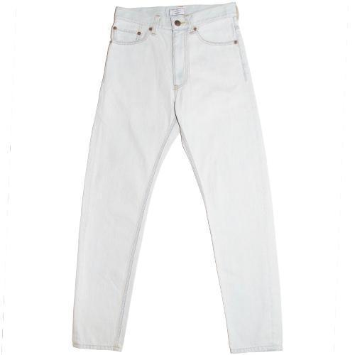 016 Bleach Denim Tapered Slim Pants-WEAR-kiwandakiwanda-kiwandakiwanda