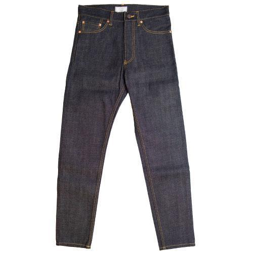 016 Selvedge Rigid Denim Tapered Slim Pants-WEAR-kiwandakiwanda-kiwandakiwanda