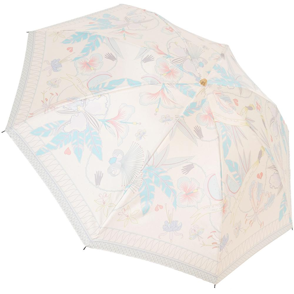 10th Anniv. FRIDA Folding 50cm-UMBRELLA-kiwandakiwanda-Cream-kiwandakiwanda