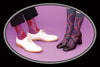 Damask  Genderless Socks