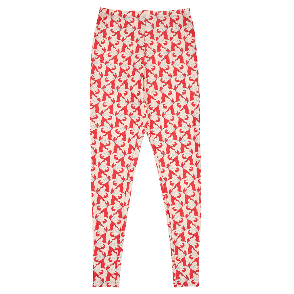 Aretha Leggings Kingyo Scarlet