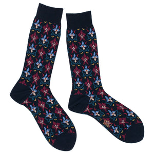 Orchid Mens Socks