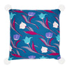 3 Tulips Cushion Cover Green