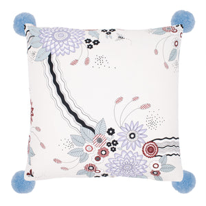 Dahlia Cushion Cover Ivory