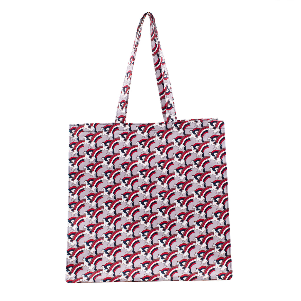 Fantastic Rain Tote Bag  Gray