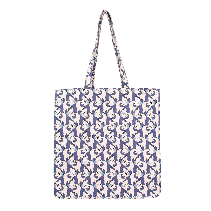 Kingyo Rain Tote Bag  Orient Blue