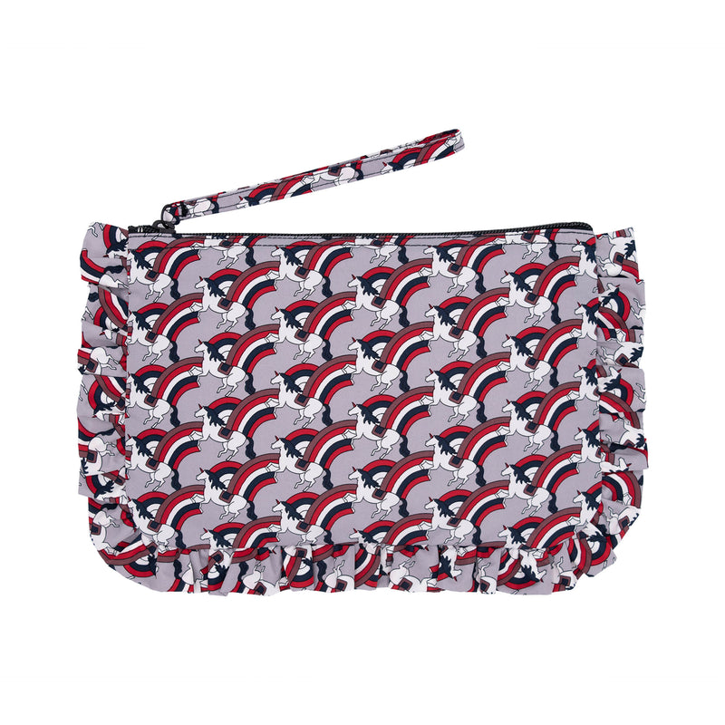 Fantastic Frill Cosmetic Bag M Gray