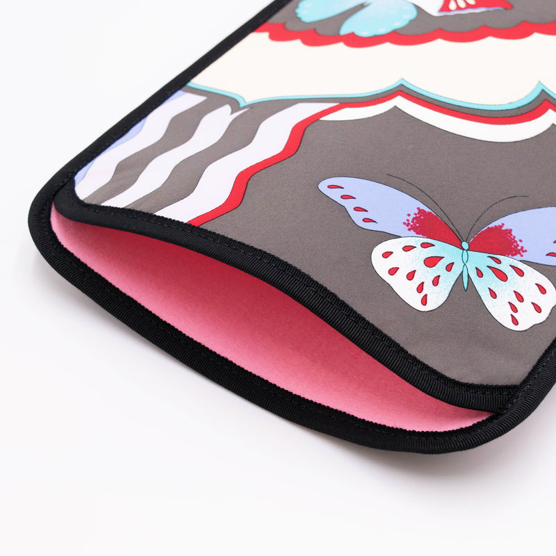 Butterfly Tablet Case Charcoal