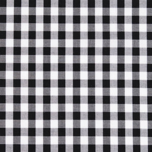 Lucie Gingham Check Black