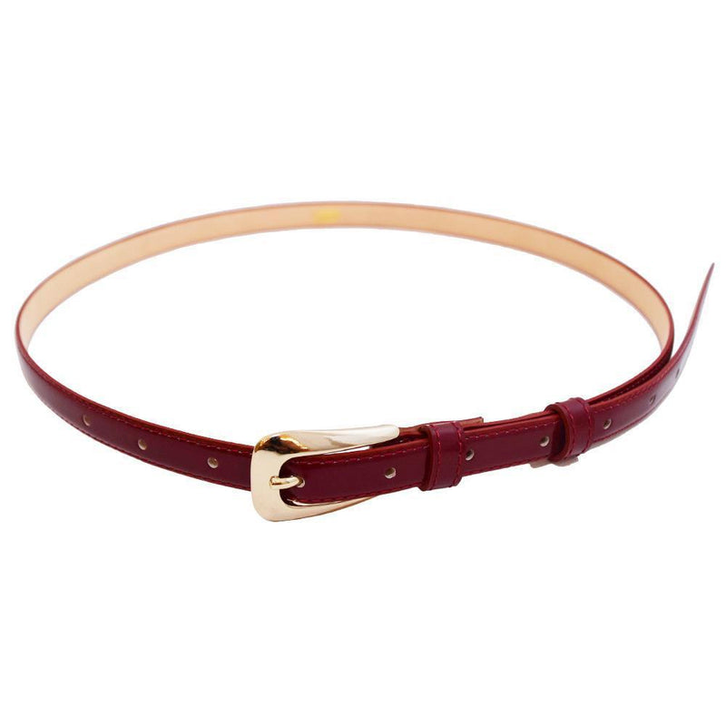 Leather Belt-ACCESSORIES-kiwandakiwanda-Red-kiwandakiwanda