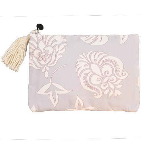 Queen Elizabeth Clutch Bag Lavender-ACCESSORIES-kiwandakiwanda-kiwandakiwanda