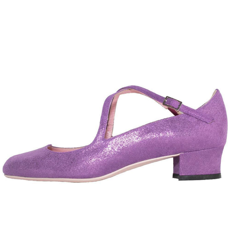 RIRICO Love Shoes Purple-SHOES-kiwandakiwanda-22cm-kiwandakiwanda