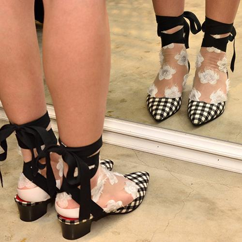 Rooney Love Shoes Gingham-SHOES-kiwandakiwanda-kiwandakiwanda