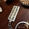 kinzjewels - Kinz Customized High Quality Sterling Silver Keychain Rhodium Vermeil Laser Engraving - Arabic or English