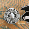 kinzjewels - Personalized Vintage Jewelry Box High Quality Alloy Antique Velvet Small Round