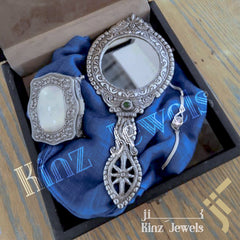 kinzjewels - Personalize Solid Alloy High Quality Mirror Double Face
