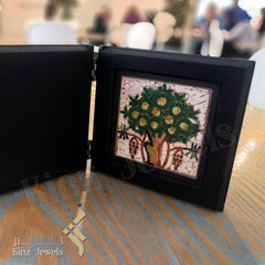 kinzjewels - Kinz Personalized Wooden Open Book Tree Of Life