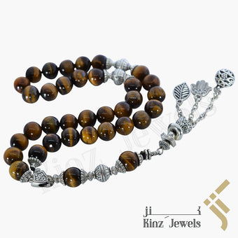 kinzjewels - Kinz Prayer Beads Tiger's Eye