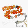 kinzjewels - Kinz Silver Prayer Beads Laser Cut Agate