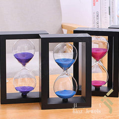 kinzjewels - Personalized Wooden Hourglass Sand Watch