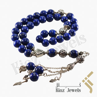 kinzjewels - Kinz Silver Prayer Beads Labis Gemstone