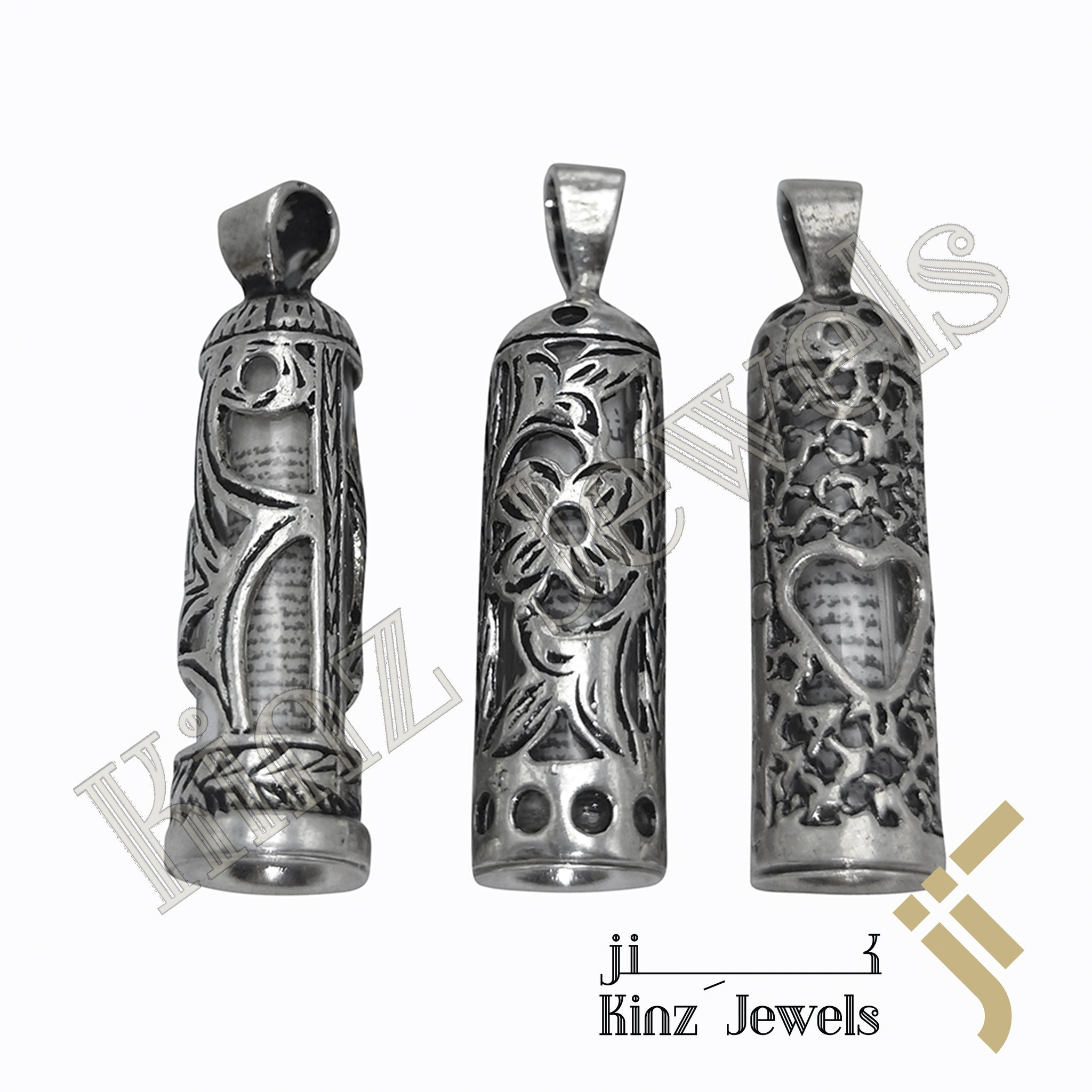 kinzjewels - Silver Glass Protective Capsule Full - The Throne Verse