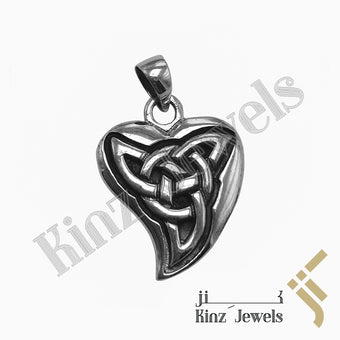 kinzjewels - Handmade Sterling Silver Antique Ninja Star Pendant