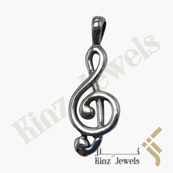 kinzjewels - Music Key Pendant Symbol Signature
