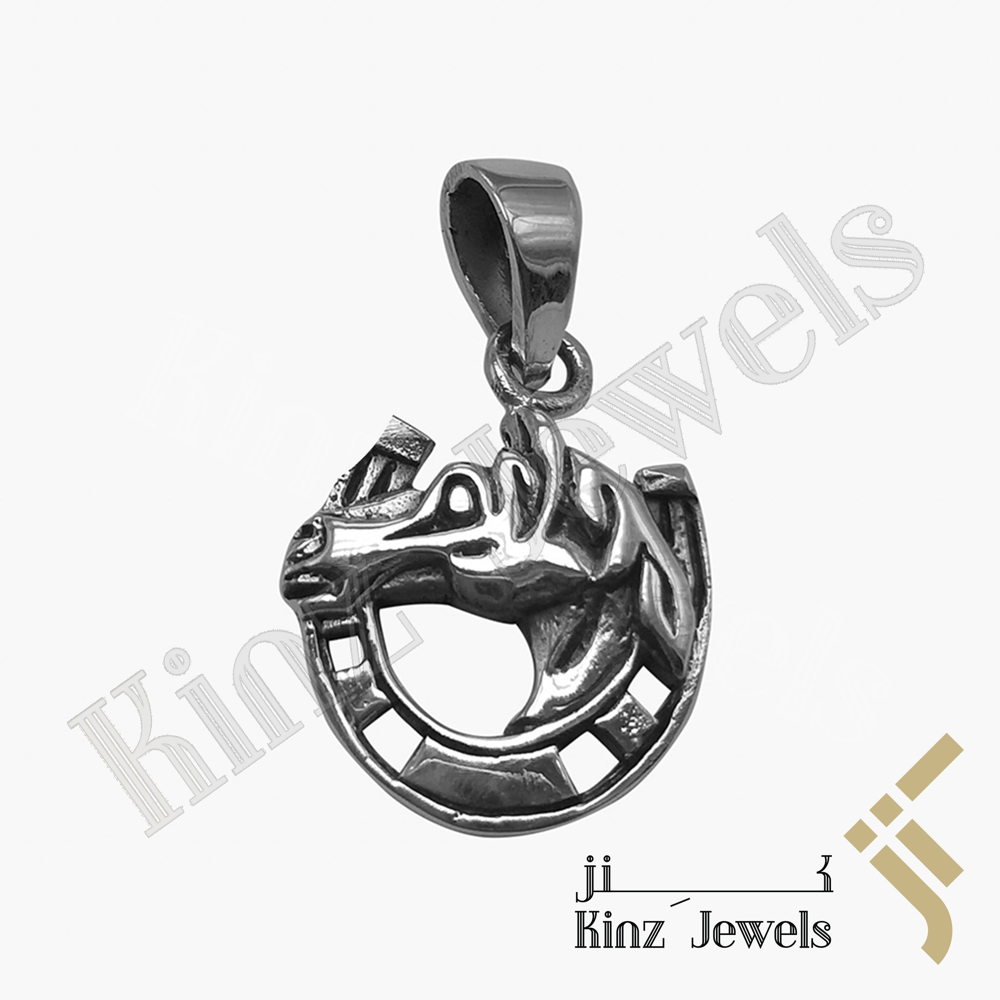 kinzjewels - Sterling Silver Small Horseshoe