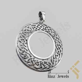 kinzjewels - Celtic Eternity Circle Sterling Silver