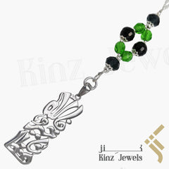 kinzjewels - Kinz Car Mirror Hanging or Keychain Black Forest - But Allah is the best Keeper