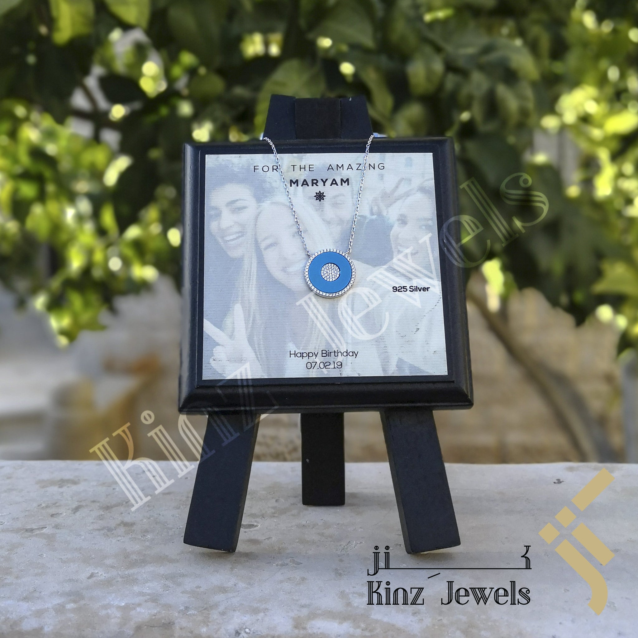 kinzjewels - Kinz Personalized Wooden Drawing Stand