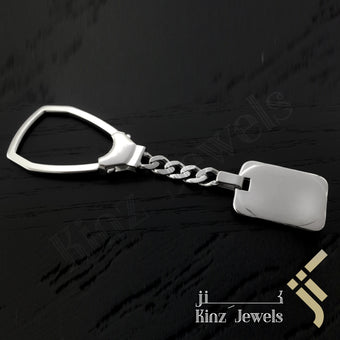 kinzjewels - Personalized Italian Premium Silver Rounded Edges