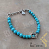 kinzjewels - Afghani - Turkish Blue Evil Eye Turquoises Color Bracelet