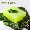 kinzjewels - Mint Glycerin Soap Bar With Dead Sea Salt