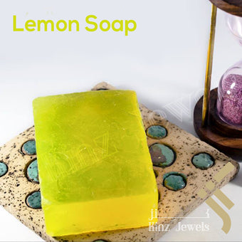 kinzjewels - Lemon Glycerin Bar With Dead Sea Minerals