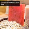 kinzjewels - Chia Seed With Rosewater Soap Bar With Dead Sea Minerals