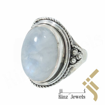 kinzjewels - Handcrafted Sterling Silver Opal Ring