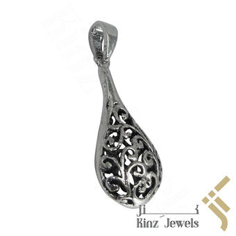 kinzjewels - Sterling Silver Handcrafted Viking Symbol Pendant