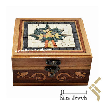 kinzjewels - Kinz Mosaics Tree of Life Wooden Box