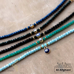 kinzjewels - Afghani - Turkish Blue Evil Eye Bracelet