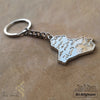 kinzjewels - Afghani - Personalized Iraq Flag Keychain